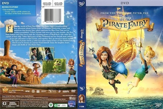 dvd cover Pirate Fairy front