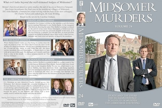 dvd cover midsomer Murders 24