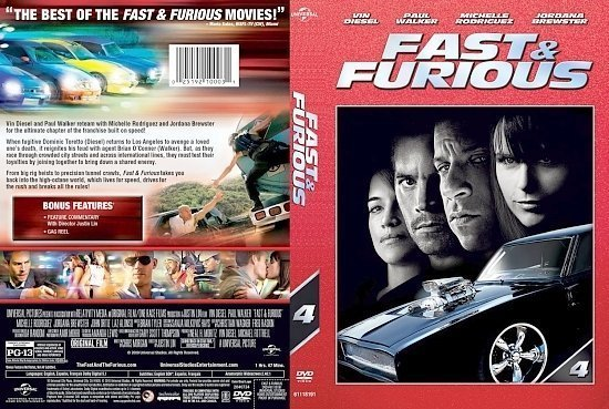 dvd cover Fast Furious