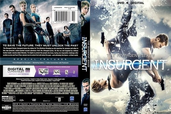 dvd cover Insurgent front