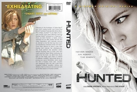 dvd cover Hunted