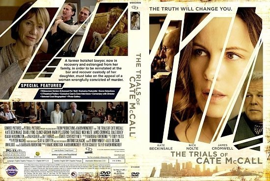 dvd cover The Trials Of Cate McCall