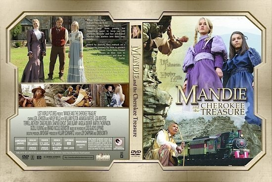dvd cover Mandie And The Cherokee Treasure