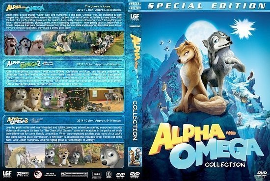 dvd cover Alpha & Omega Triple Feature
