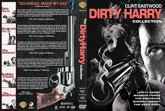 dvd cover Dirty Harry Collection