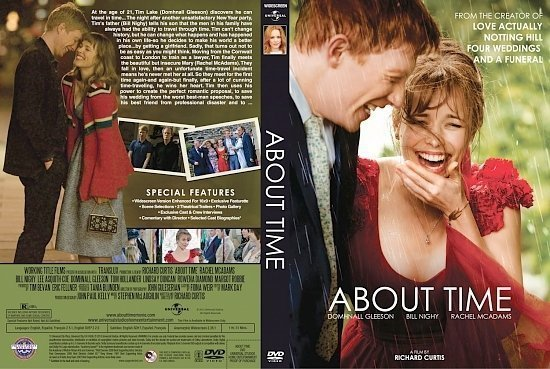 dvd cover About Time