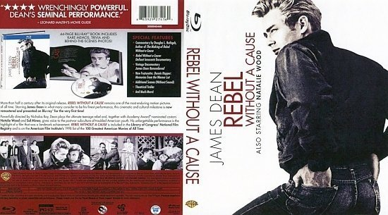 dvd cover Rebel Without A Cause BR