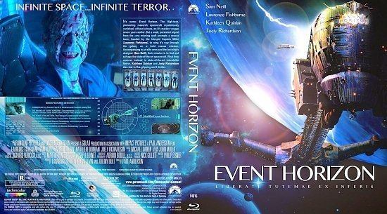 dvd cover Event horizon