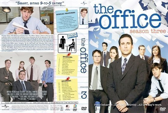 dvd cover Office S3