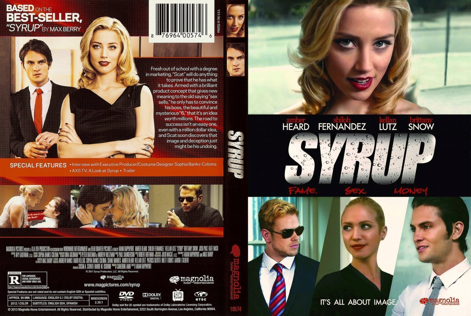 the use of satire in syrup by max barry The american dream in a can: trailer for indie 'syrup' with amber heard & shiloh fernandez.