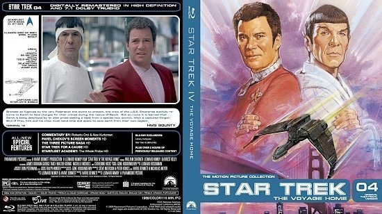dvd cover Star Trek 04 The Voyage Home