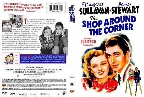 dvd cover The Shop Around the Corner
