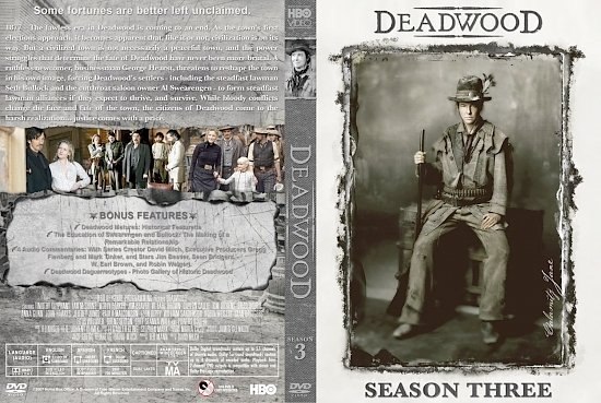 dvd cover Deadwood st S3b