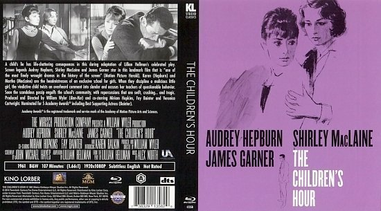 dvd cover The Children s Hour BR