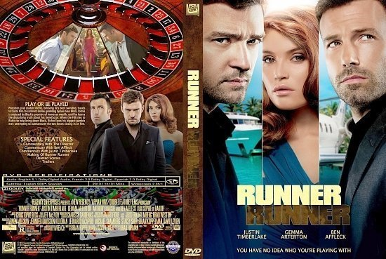dvd cover Runner Runner