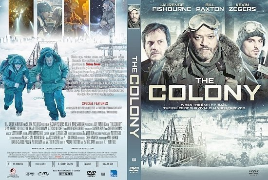 dvd cover The Colony