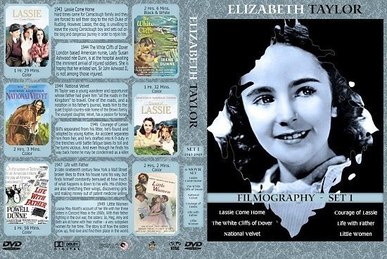 dvd cover Liz Taylor Collection