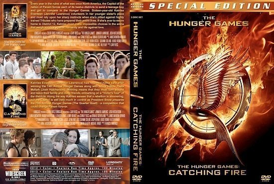 dvd cover Hunger Games Double Feature
