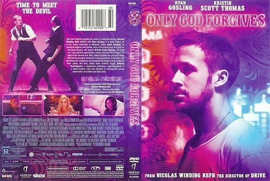 dvd cover Only God Forgives