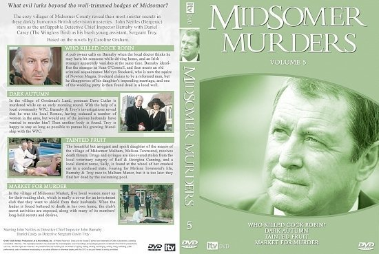 dvd cover Midsomer Murders 05