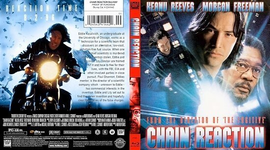 dvd cover Chain Reaction