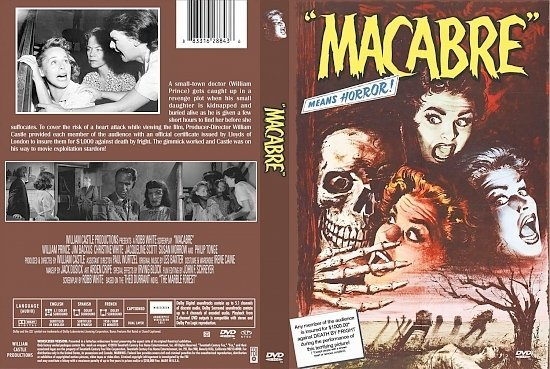 dvd cover Macabre