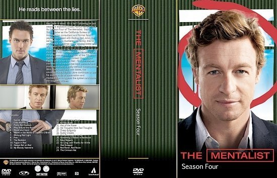 dvd cover Mentalist The S4