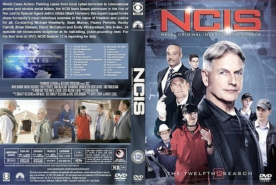 dvd cover NCIS S12 st