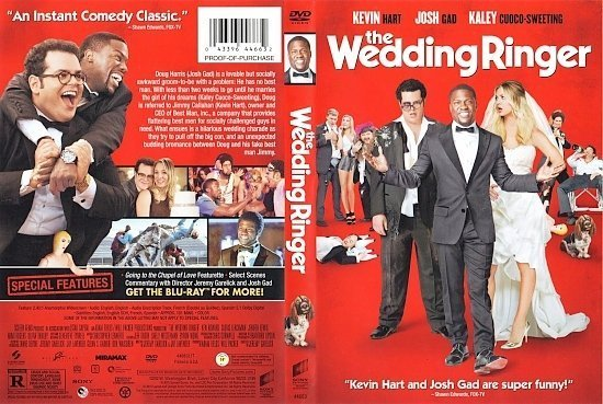 dvd cover The Wedding Ringer poyzen
