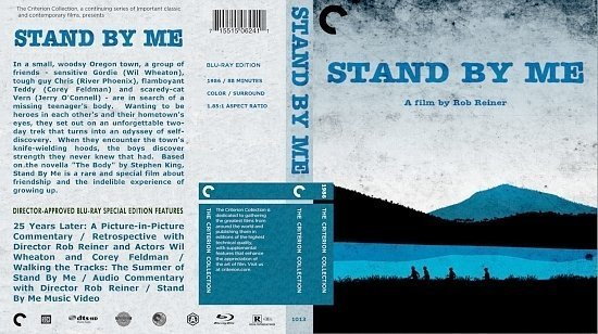 dvd cover Stand By Me