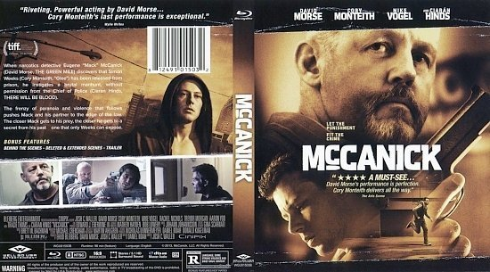 dvd cover McCanick BR