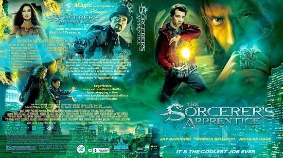 dvd cover Sorcerers Apprentice
