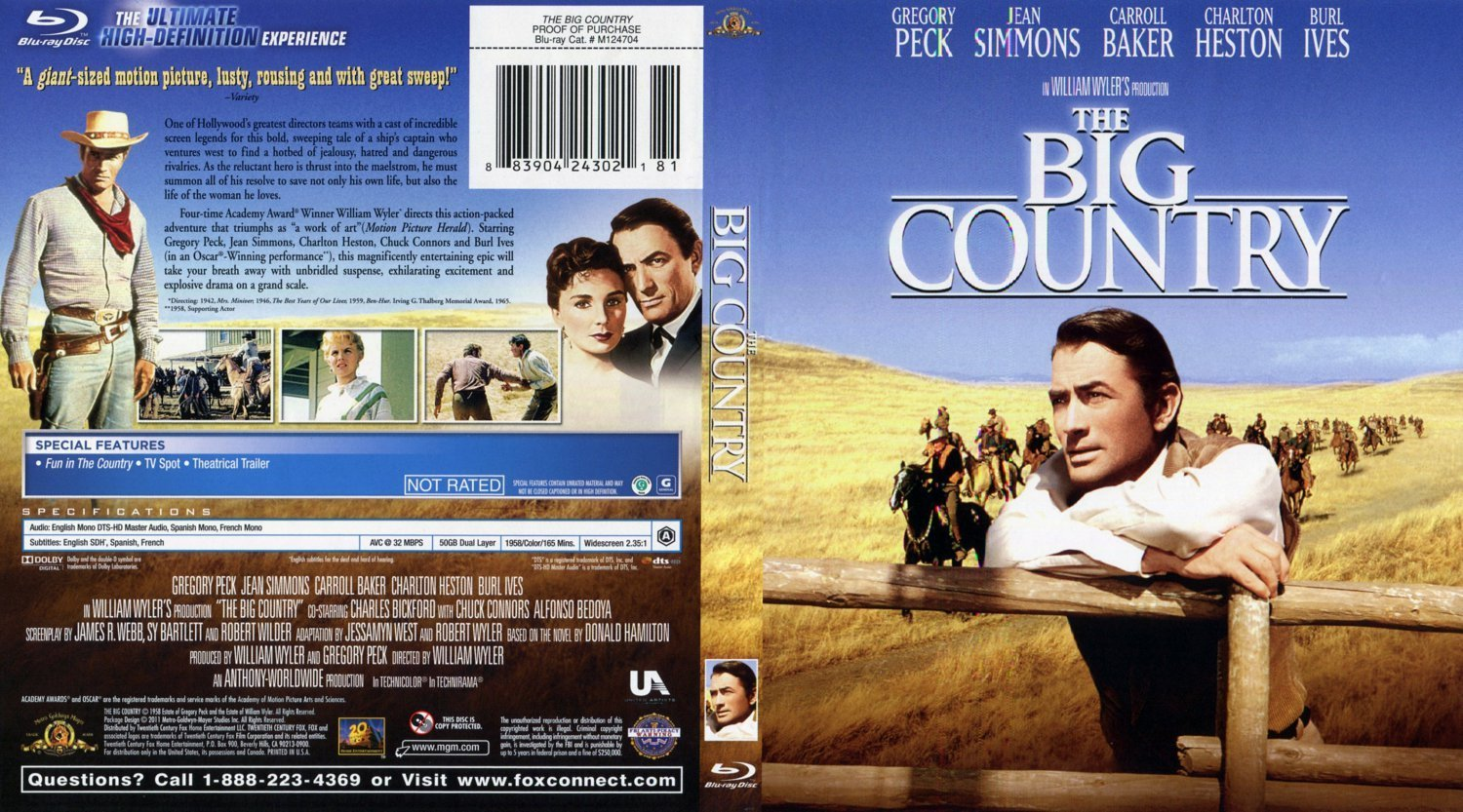 The Big Country BR | Dvd Covers and Labels