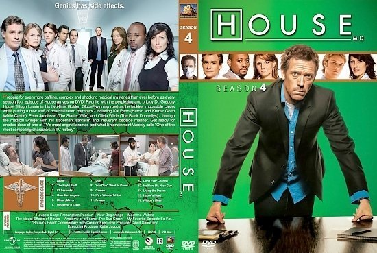 dvd cover House st S4