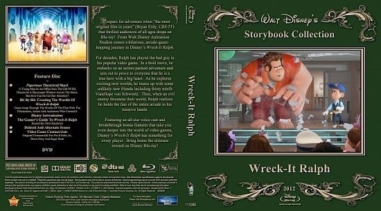 dvd cover Wreck It RW Combo