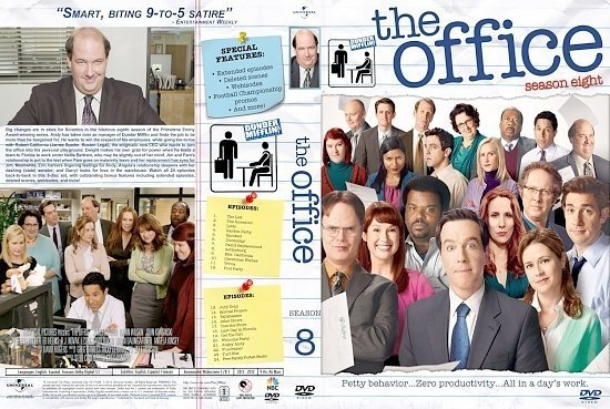 dvd cover Office S8a