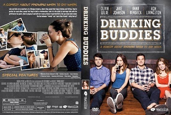 dvd cover Drinking Buddies