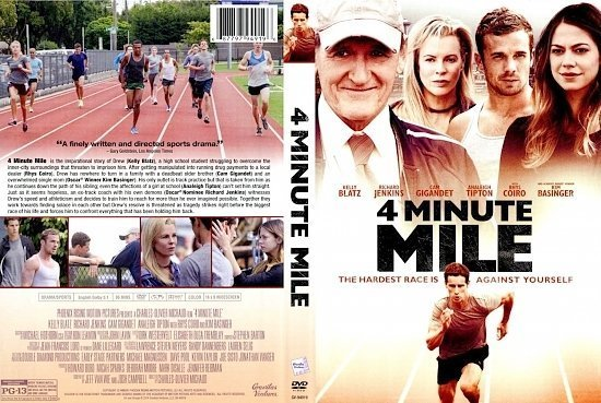 dvd cover 4 Minute Mile