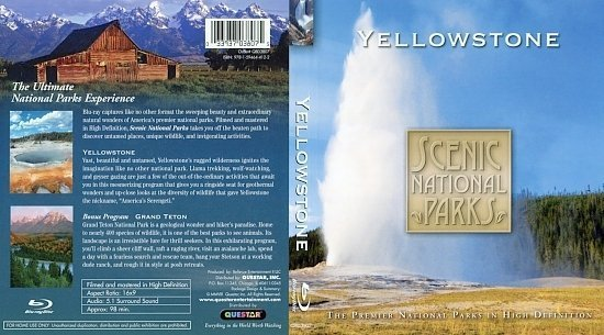 dvd cover Yellowstone BR