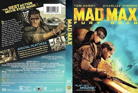 dvd cover Mad Max Fury Road