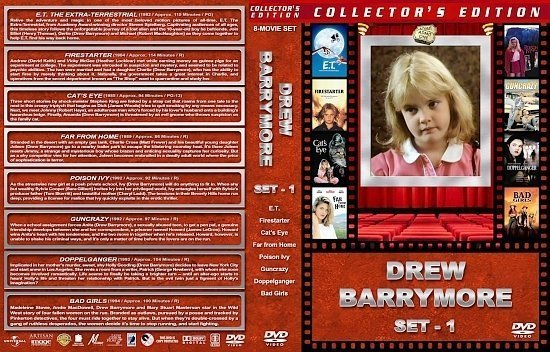 dvd cover Drew Barrymore Collection