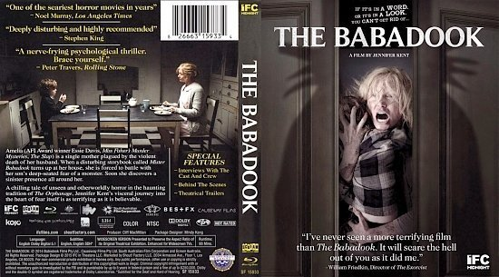 dvd cover the babadook br