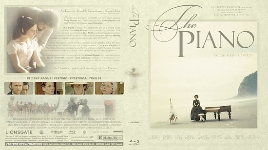 dvd cover The Piano