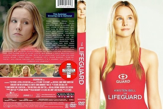 dvd cover The Lifeguard
