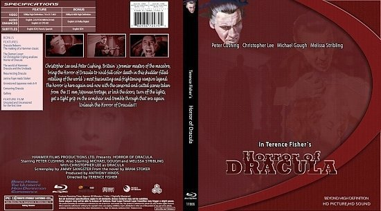 dvd cover Horror Of Dracula