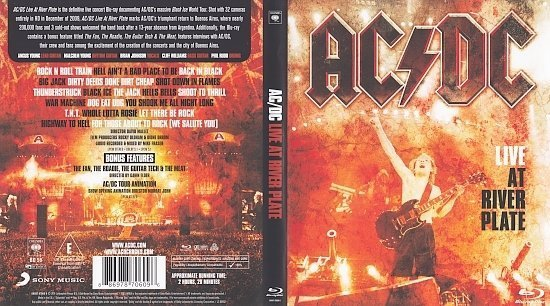 dvd cover AC/DC: LIVE at River Plate (2011) Blu-Ray Cover