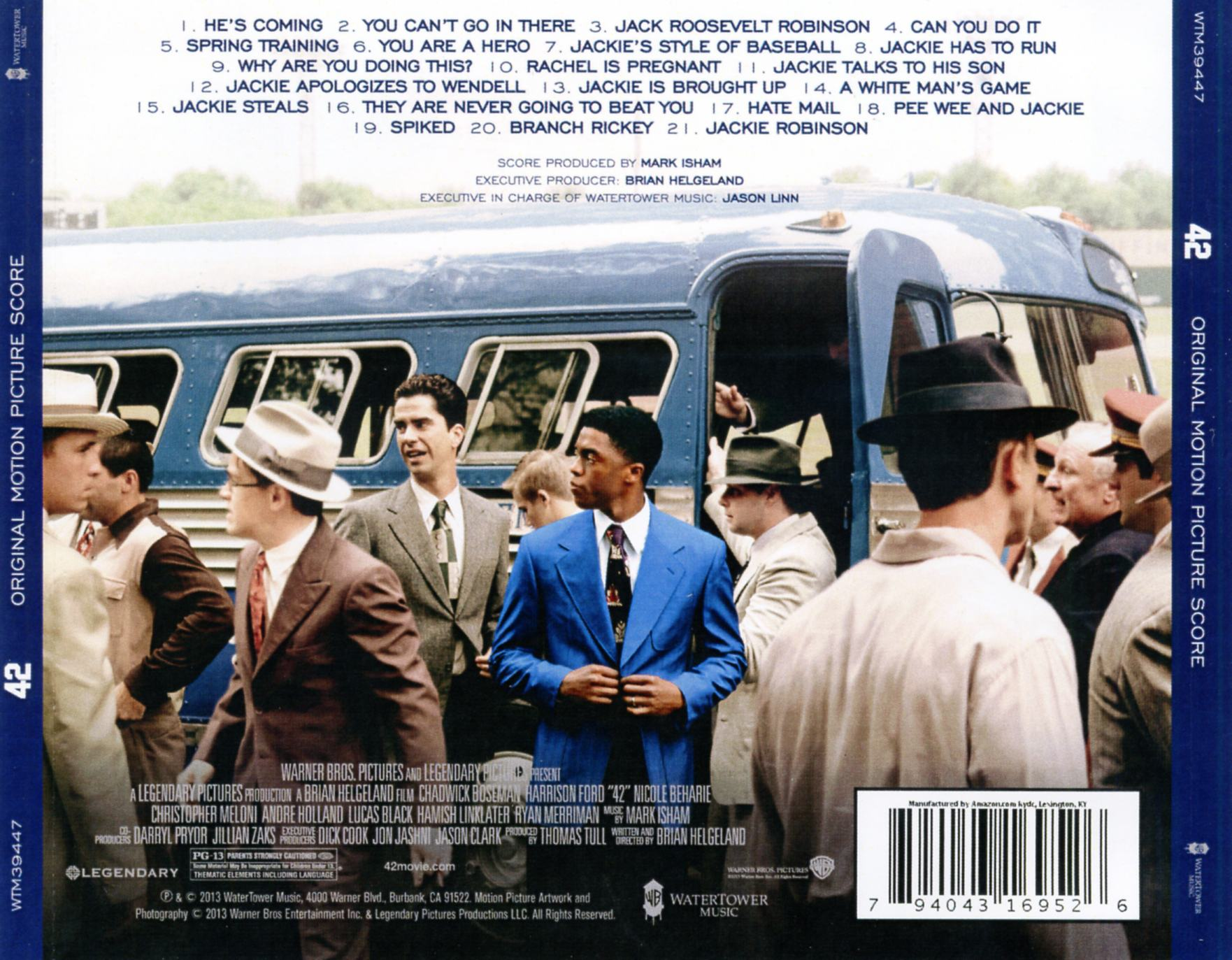 42 the jackie robinson story dvd cover