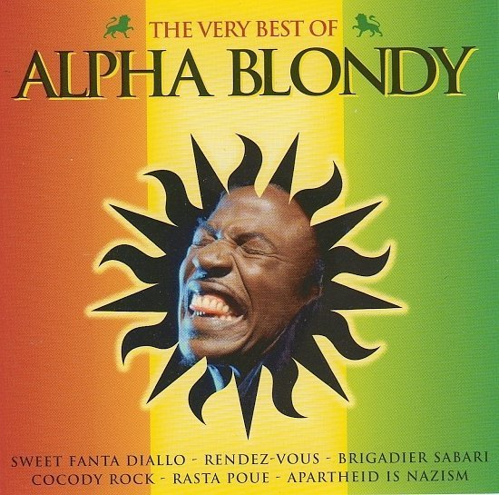 dvd cover Alpha Blondy - The Very Best Of (2005)