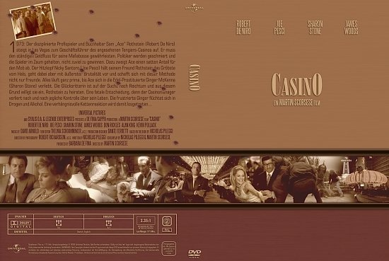 dvd cover Casino (Gangster Collection) (1995) R2 German