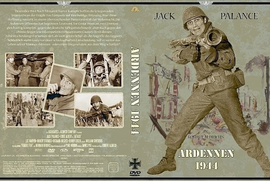 dvd cover Ardennen 1944 (1956) R2 German